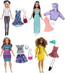 MATTEL - Barbie Modelka S Oblečením A Doplnkami Mix