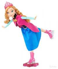 MATTEL - Disney Frozen korčuliarka - princezná Anna