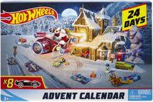 MATTEL - Hot Wheels Adventný kalendár 2018