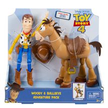 MATTEL - Toy Story 4: Príbeh Hračiek Woody A Bullseye