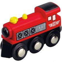 MAXIM - Parná lokomotíva červená 50399