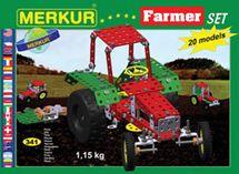 MERKUR - Stavebnica Farmer set