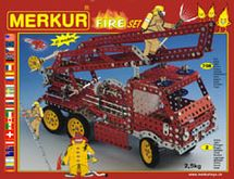 MERKUR - Stavebnica Fire set