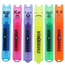 M&G - Mini zvýraznovač Jurský park 6 farieb