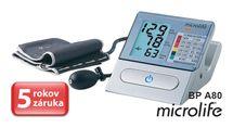 MICROLIFE - BP A80 poloautomatický tlakomer na rameno
