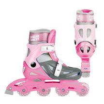 MONDO - in line kolieskové korčule Hello Kitty veľkosť 33-36