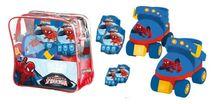 MONDO - kolieskové korčule Spiderman s chráničmi 183906
