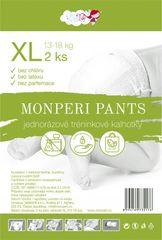 MONPERI - jednorázové nohavičky 13-18kg, nohavičky Pants XL - 2ks