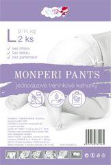 MONPERI - jednorázové nohavičky  8-14kg, nohavičky Pants L - 2ks