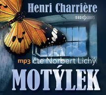 Motýlek - CDmp3 (Čte Norbert Lichý) - Henri Charriere