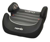 NANIA - Autosedačka - podsedák Topo Comfort Graphic Black First 15-36 Kg