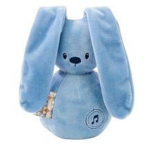 NATTOU - Hračka hudobná zajačik Lapidou dark blue