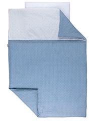 NATTOU - Obliečky na posteľ PURE BLUE