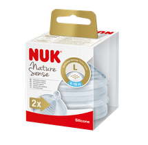 NUK - cumlík Nature Sense  V2, L, 2ks