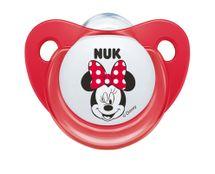 NUK - Cumlík Trendline DISNEY - Mickey , SI , V2 (6 -18m.), červený