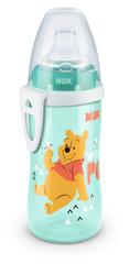 NUK - FC Fľaša PP Active Cup DISNEY - Medvedík Pú , 300ml , SI naústok, tyrkysová
