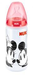 NUK - FC+ Fľaša  DISNEY-Mickey PP 300ml,SI, Červená