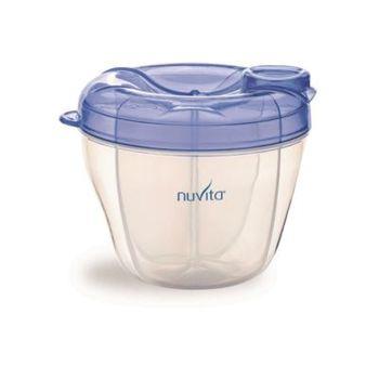 NUVITA - Nádoba na sušené mlieko - modrá