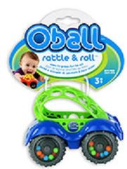 OBALL - Hračka autíčko OBALL, 0m+ modrá