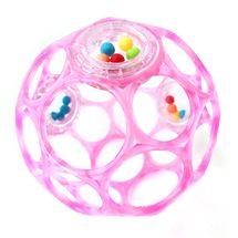 OBALL - Hračka OBALL RATTLE 10cm soft pink 0m+