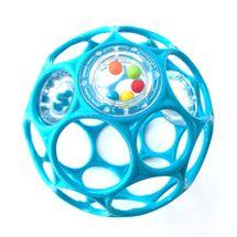 OBALL - Hračka OBALL RATTLE 10cm turquoise 0m+