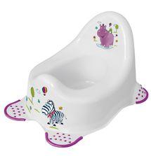 OKT - Nočník detský HIPPO, biely