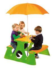 PARADISO - Piknikový stolík so slnečníkom T00759