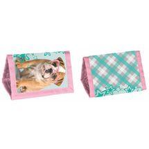 PASO - Peňaženka na krk Rachael Hale pes s okuliarmi ružový