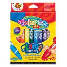 PATIO - Colorino fixky obojstranné s pečiatkou 10 farieb