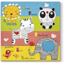 PAW - Papierové servítky Children's World