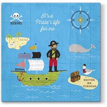 PAW - Papierové servítky Crazy Pirate