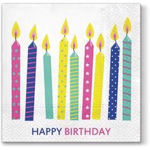 PAW - Papierové servítky Happy Candles