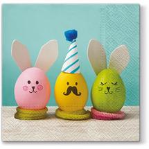 PAW - Veľkonočné servítky Funny Eggs