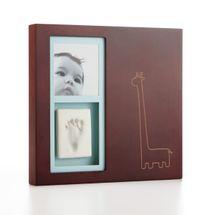 PEARHEAD - Babyprints® moderný rámik na stenu - hnedý