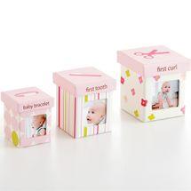 PEARHEAD - Set krabičiek Little Keepsake - ružový