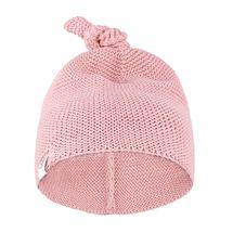 PETITE&MARS - Čiapka pletená Huggy Pink 100% bavlna 0-6m