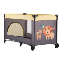 PETITE&MARS - Postieľka cestovná Koot Lion Yellow Petite&Mars