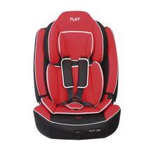 PLAY - Autosedačka Safe One 9-36 kg - Red leather, 2017
