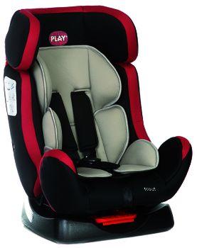 PLAY - Autosedačka Scout, 0-25 kg - Red/black, 2018