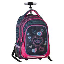 PLAY BAG - Školský batoh na kolieskach Trolley Play, Love