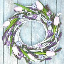 POL-MAK - Papierové servítky Spring Wreath