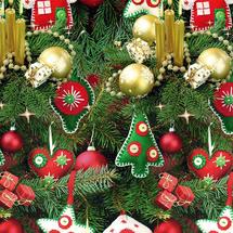 POL-MAK - Vianočný darčekový papier 24881 - 100x70 cm