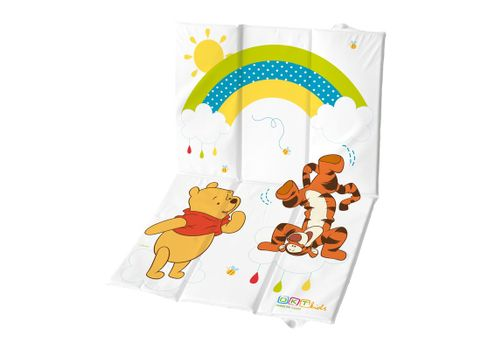 PRIMA BABY - Cestovná prebaľovacia podložka Winnie Pooh - biela