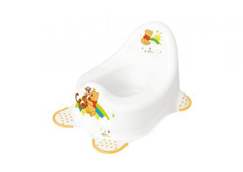 PRIMA BABY - Detský nočník 2K Winnie Pooh - Biely