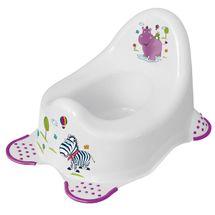 PRIMA BABY - Detský nočník Hippo - biely