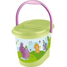 PRIMA BABY - Kôš na plienky Hippo - Zelený