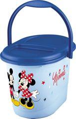 PRIMA BABY - Koš na plienky Mickey & Minnie - modrý