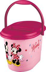 PRIMA BABY - Kôš na plienky Mickey & Minnie - ružová