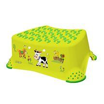 PRIMA BABY - Schodík na WC/umývadlo Funny Farm - Zelená