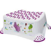 PRIMA BABY - Stupienok k umývadlu a WC Hippo, biela